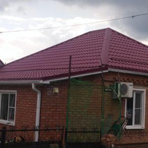 перестелить крышу металлочерепицей